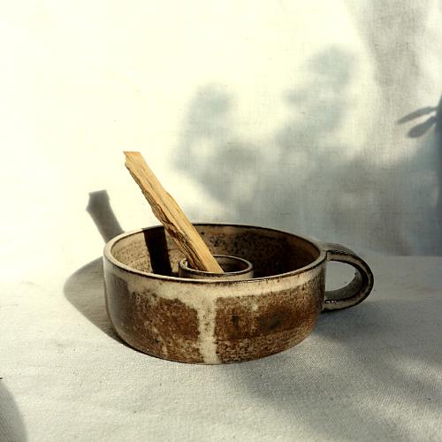 Herba Sfero Produkty dla ciała i duszy podstawka z uchem