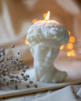 David – świeca sojowa